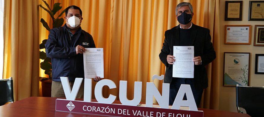 SEC firma convenio para que habitantes de Vicuña presenten en el municipio reclamos vinculados a los energéticos