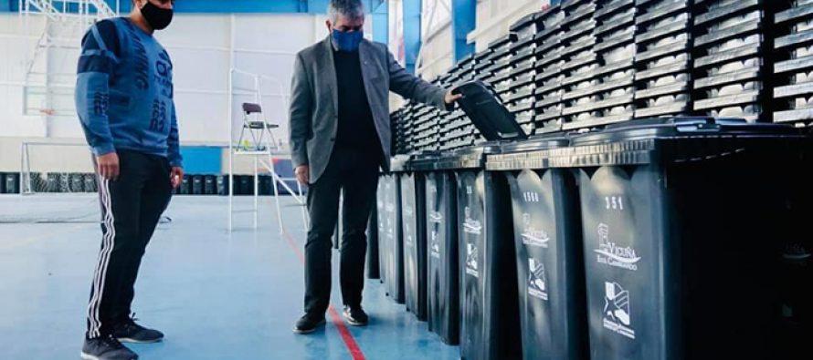 Municipio de Vicuña entregará contenedores de basura para todas las casas de la comuna