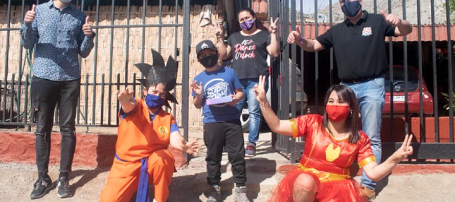 """Exitoso concurso del """"Día del niño y la niña 2020"""" convocó a 550 pequeños de la comuna Elquina"""
