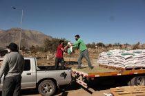 Exitosa segunda entrega de alimentos para 230 crianceros de la comuna de Vicuña