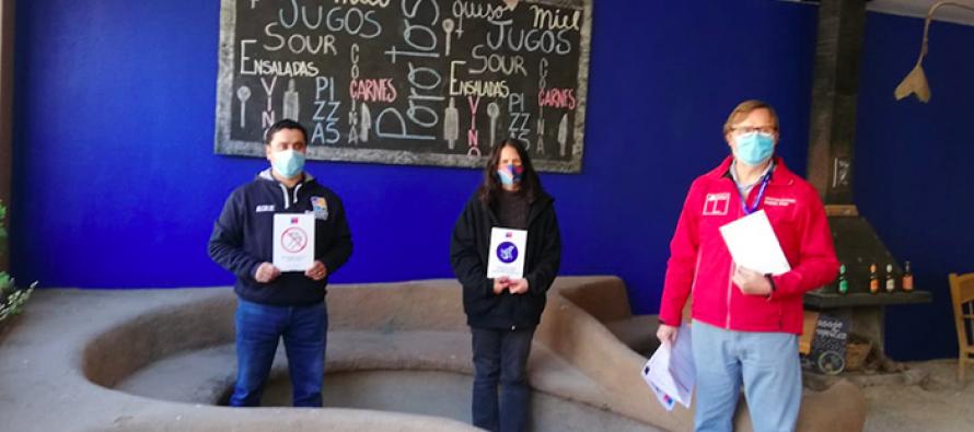 Restaurantes de Paihuano se mantendrán cerrados mientras fortalecen protocolos de salud