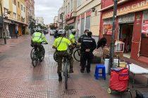 Buscan evitar la instalación del comercio ilegal en el centro de La Serena