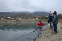 Regantes del canal Bellavista y autoridades del agro destacan aporte de la CNR para aumentar eficiencia y seguridad hídrica