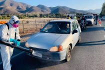 Permanece punto de inspección municipal en la ruta 41 CH sector El Arrayán-La Calera
