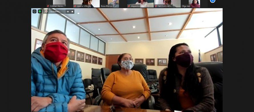 Dirigentes sociales de Vicuña y San Juan Argentina avanzan en agenda de trabajo y hermanamiento