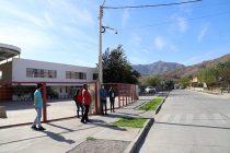 Seguridad municipal instala nueva cámara de vigilancia en sector de Aguas de Elqui