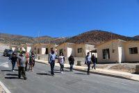 Cada vez más cerca el sueño de la casa propia para comité Carlos Martínez de Puclaro en Vicuña