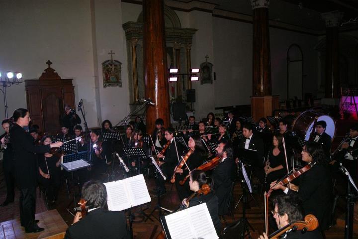 Photo of Orquesta Sinfónica de la ULS se presentó en Vicuña cerrando el Mes Mistraliano