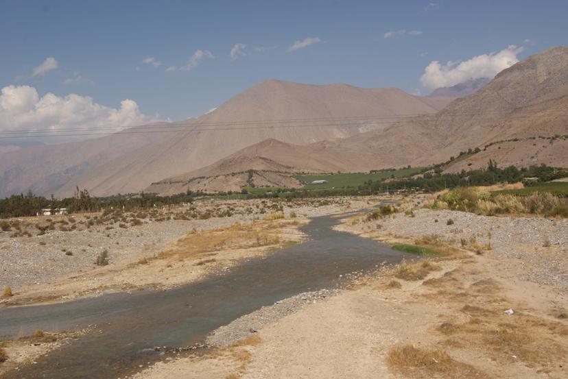 Sequía Valle de Elqui