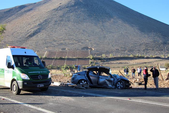 Photo of Una persona fallecida y tres heridas en accidente ocurrido en la ruta D-41 en Peralillo