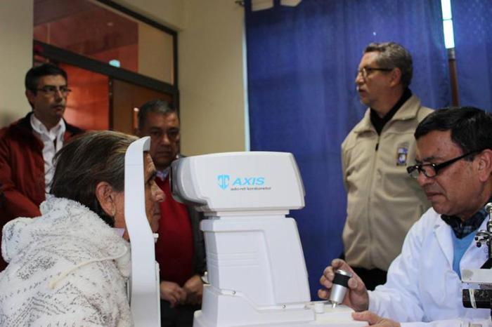 Photo of Operativo Oftalmológico atendió a 33 pacientes en el CESFAM de Paihuano