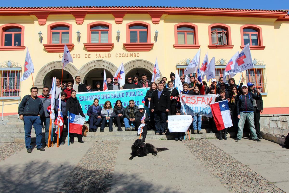 Photo of AFUSAM presenta solicitud de demandas en Intendencia y Servicio de Salud Coquimbo