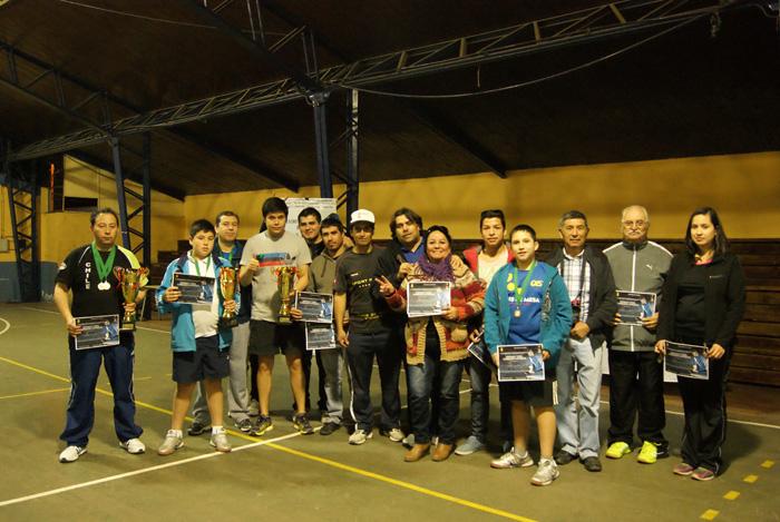 Photo of Campeonato Regional de Tenis de Mesa tuvo lugar en el Estadio Techado de Vicuña