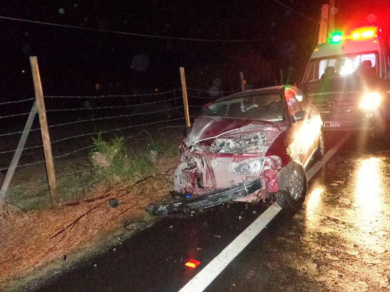 Photo of Tres personas lesionadas deja accidente en la ruta D-41 sector El Algarrobal
