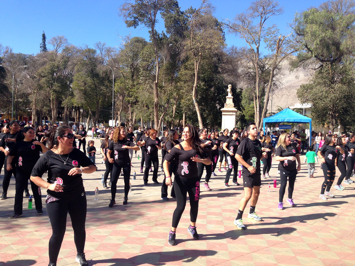 Photo of Zumba Fitness se toma su espacio en la comuna de Vicuña con diversas actividades