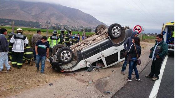 Photo of El Rosario: Nuevo accidente en la Ruta Internacional D-41 deja a seis heridos