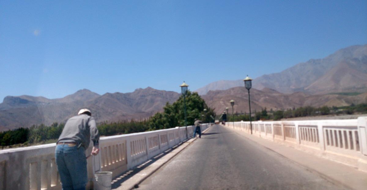 Photo of Pintado al puente fiscal