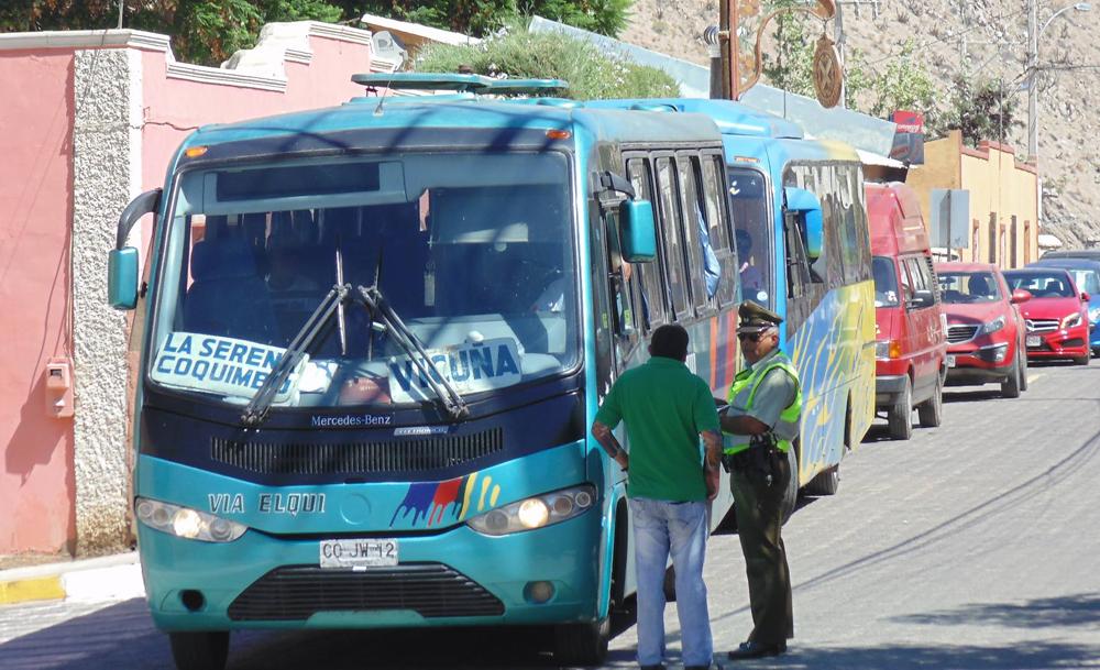 Photo of Ordenanza municipal causa molestia en conductores de línea de buses en Pisco Elqui