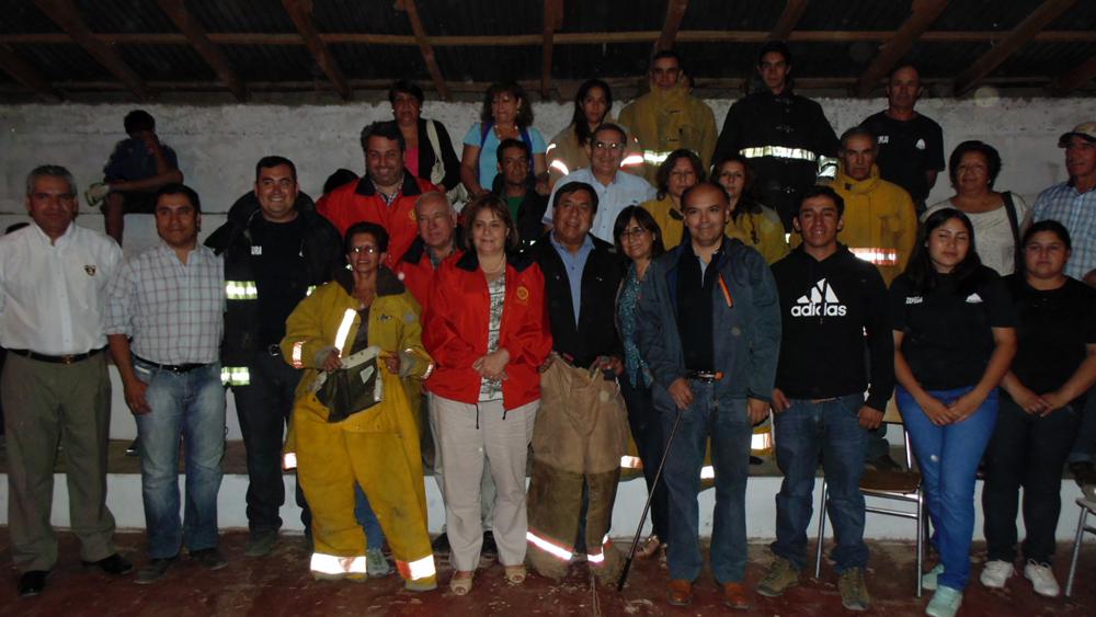 Photo of Brigada de Bomberos de Horcón reciben implementación de Rotary Club San Joaquín