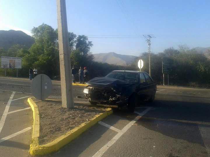 Photo of Joven motociclista en estado grave luego de choque al ingreso de Vicuña