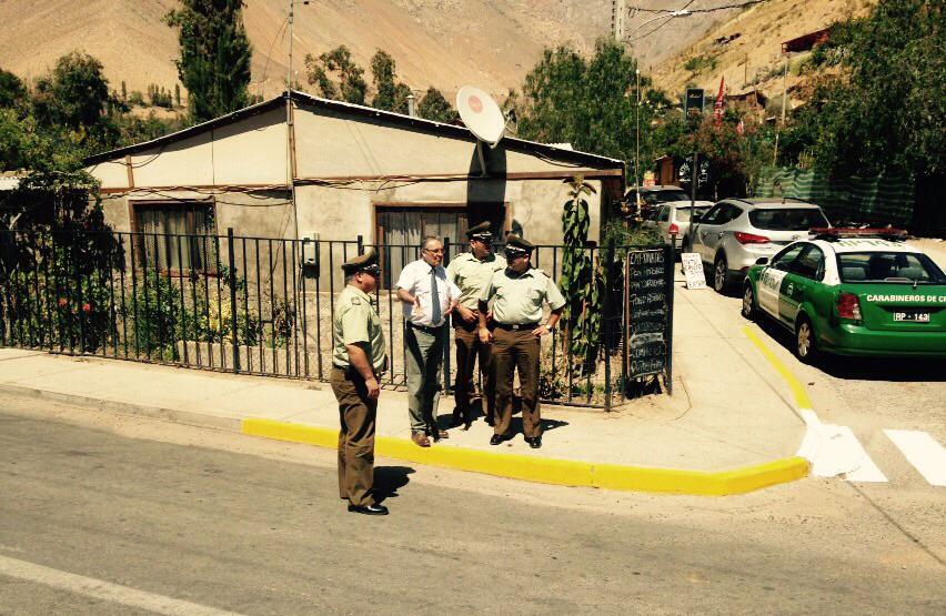 Photo of Autoridades fiscalizan y analizan plan de seguridad en Pisco Elqui por recital de Los Jaivas
