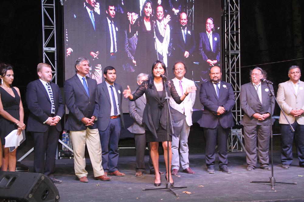Photo of Intendenta y consejeros dan el vamos a pabellón regional en Fiesta Nacional del Sol