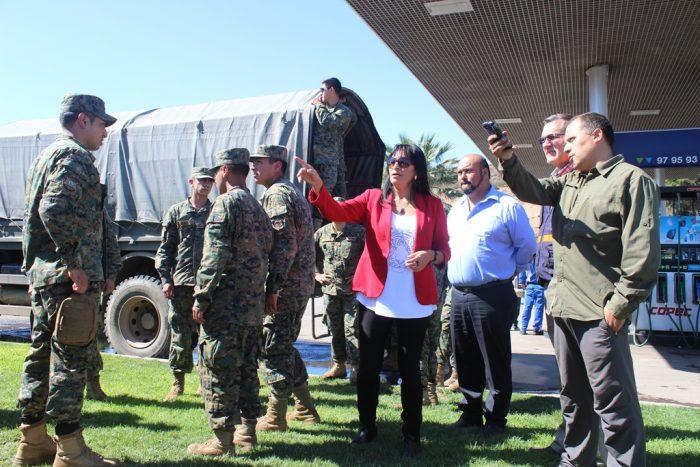 Photo of Gobierno Regional y ONEMI coordinan primera entrega de ayuda a Vicuña