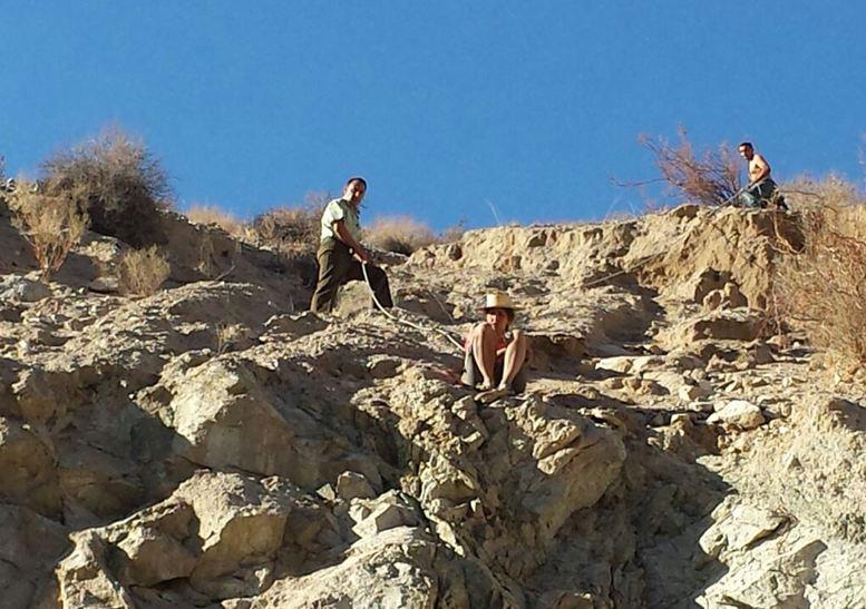 Photo of Carabineros y vecinos de Paihuano rescatan a turista israelí en cerro de Chañar Blanco