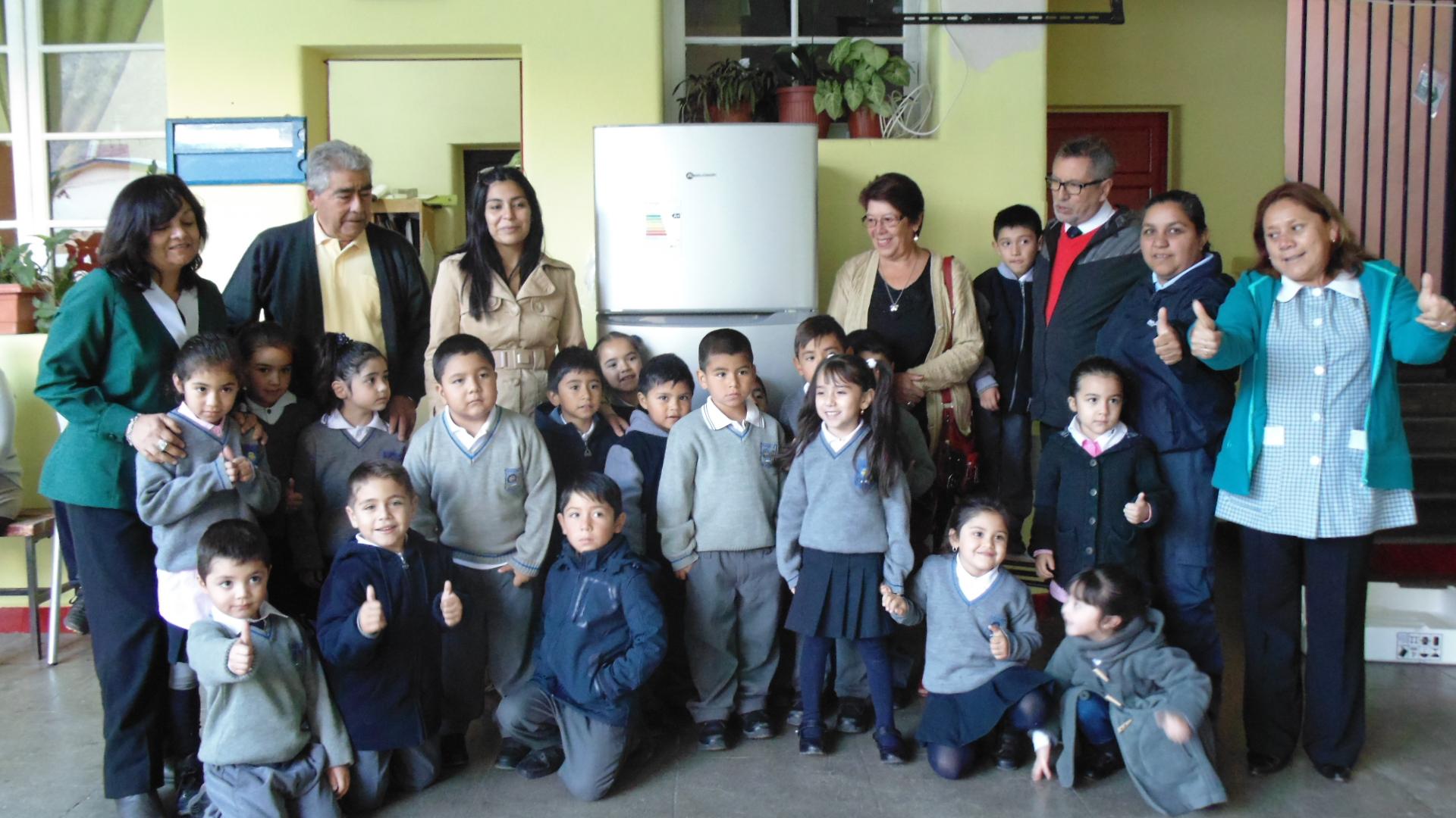 Photo of Cabañas Don Nano  entrega importante donación a Escuela Cielo Claro