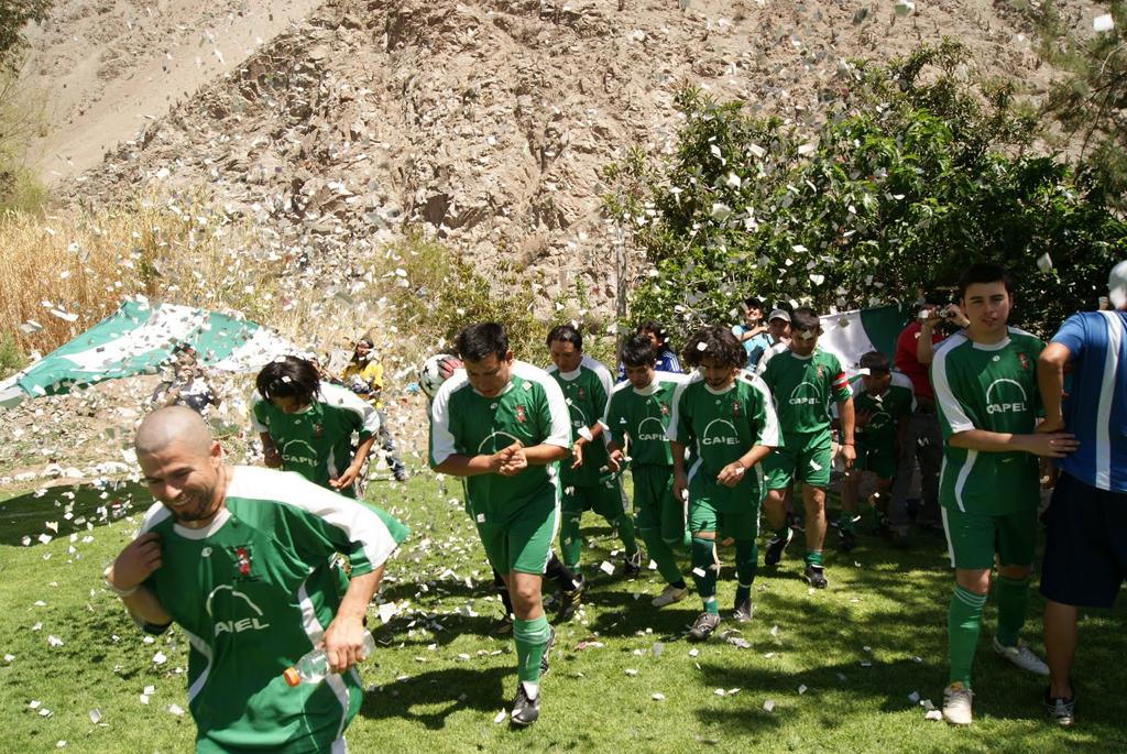 "Photo of Comenzó ""a rodar la pelota"" en el ANFUR de Paihuano con el torneo 2015"