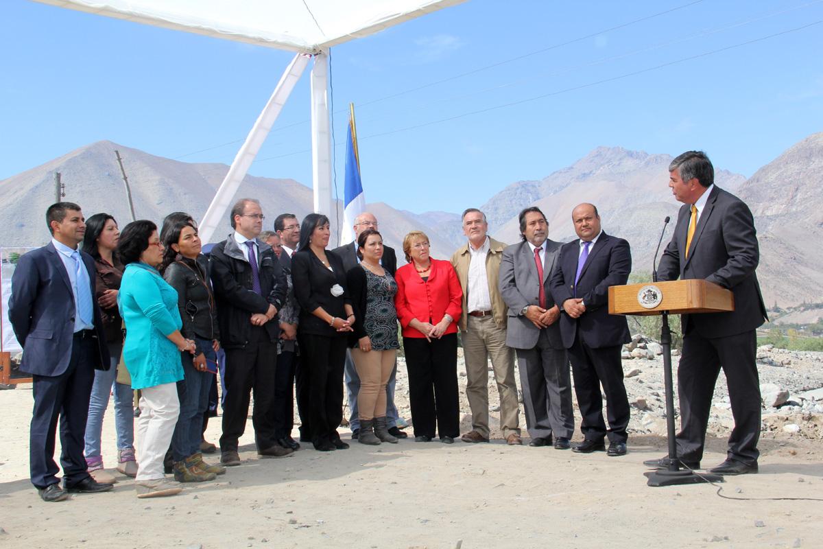 Photo of Presidenta Bachelet visita Vicuña y realiza importantes anuncios para las comunas elquinas