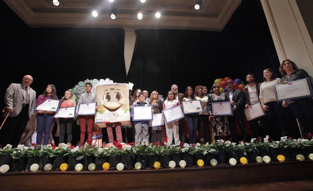 Photo of Escritor elquino presente en los premios del concurso nacional de literatura del MINAGRI