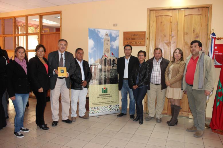 Photo of Paihuano recibe libro dedicado a Gabriela Mistral por parte del Centro Cultural Mohammed VI de Coquimbo