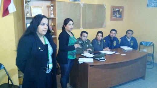 Photo of Dialogan sobre seguridad con vecinos de Calingasta