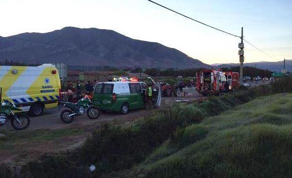 Photo of Gabriela Mistral: Tres muertos deja un accidente en la Ruta 41 en el Valle del Elqui