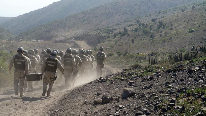 Photo of Futuros GOPE se preparan en cerros al interior de Altovalsol