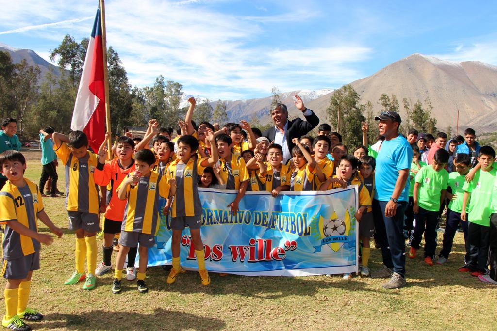 Photo of Más de 500 niños compitieron en el 3er Campeonato Haciendo Amigos en el Valle de Elqui