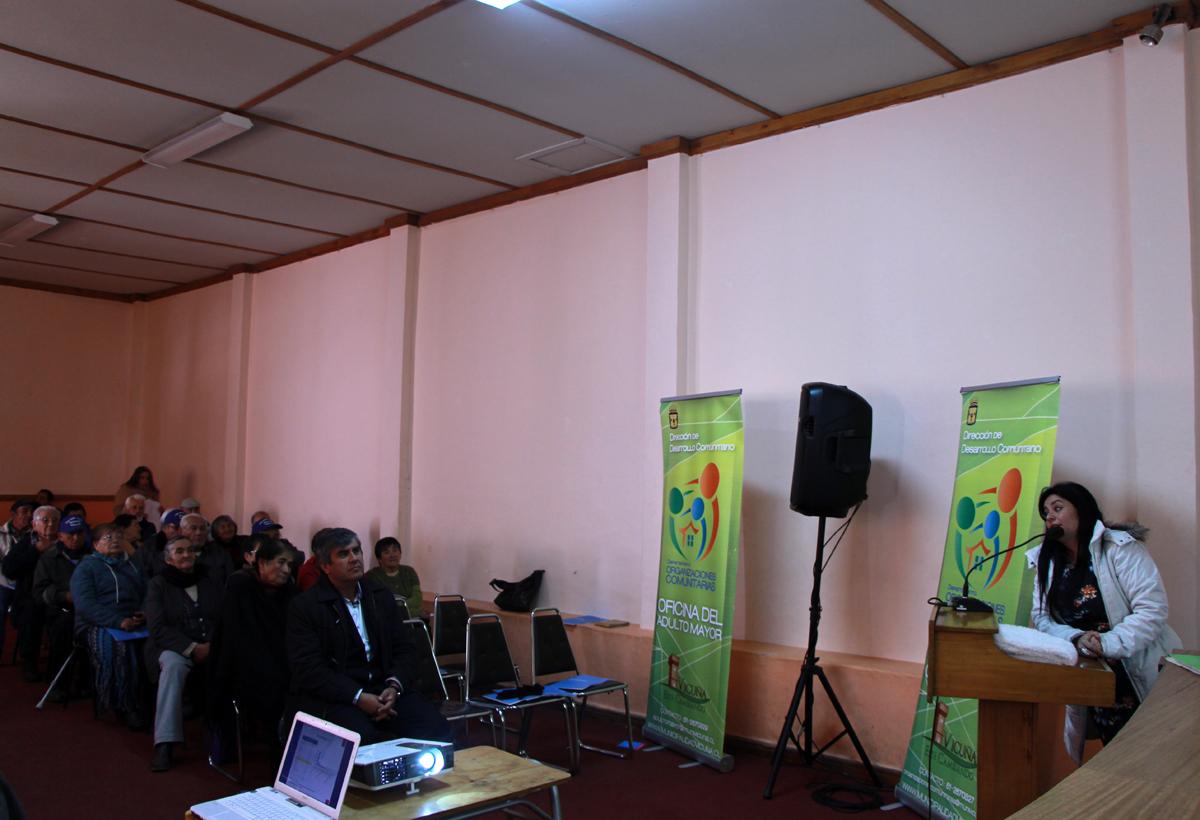 Photo of Realizan capacitación de educación cívica a  los clubes de adulto mayores de Vicuña