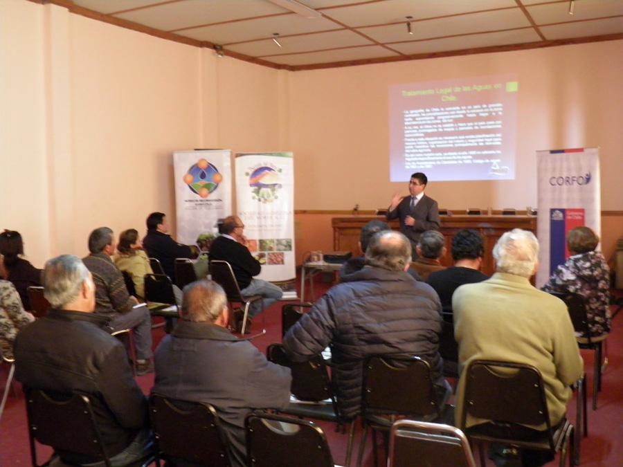 """Photo of Nodo de Reconversión de SAN realizó Seminario """"Aspectos legales en la agricultura"""" en Vicuña"""