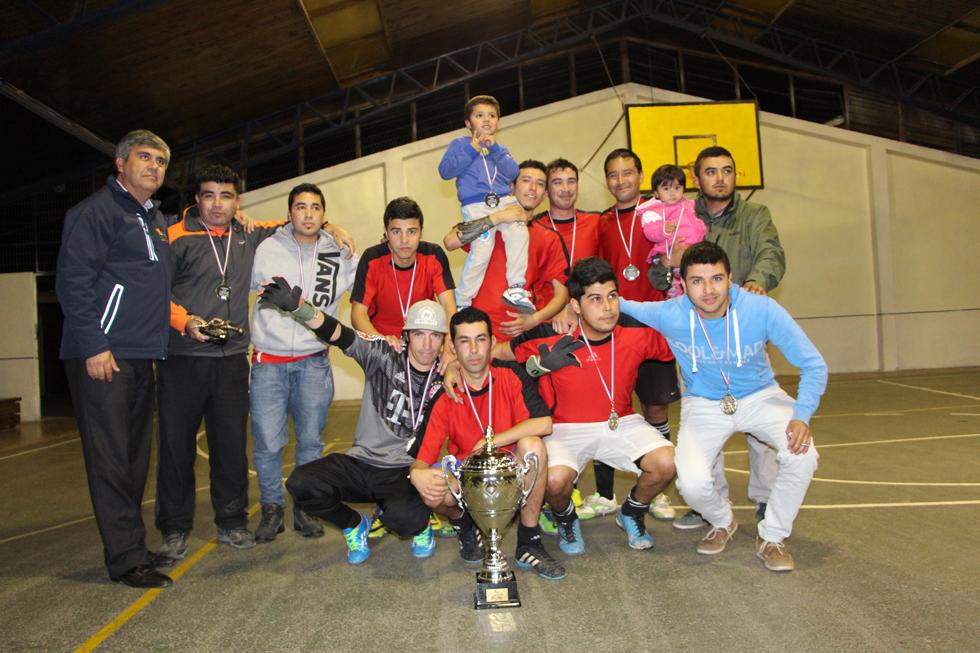 """Photo of """"Los Firulácticos"""" se quedaron con el primer lugar de la II Liga de Baby Fútbol de Vicuña"""