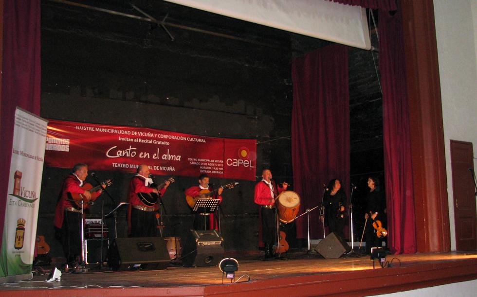 Photo of Los Ponchos Colorados lanzan su disco en el Teatro Municipal de Vicuña