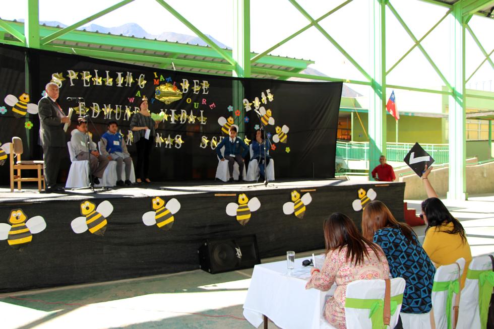 """Photo of Escuela Neftalí Reyes de El Tambo fue la ganadora del """"Spelling Bee"""" en Peralillo"""