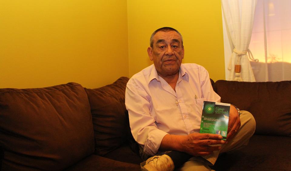 """Photo of Juan Carlos Robles: """"Yo escribo desde el entorno, desde la gente"""""""