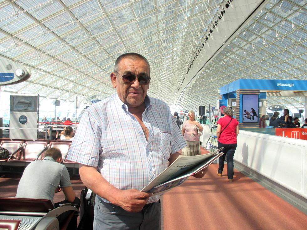 Photo of Juan Carlos Robles deleitó al público en la Expo Milán 2015 representando al Valle del Elqui