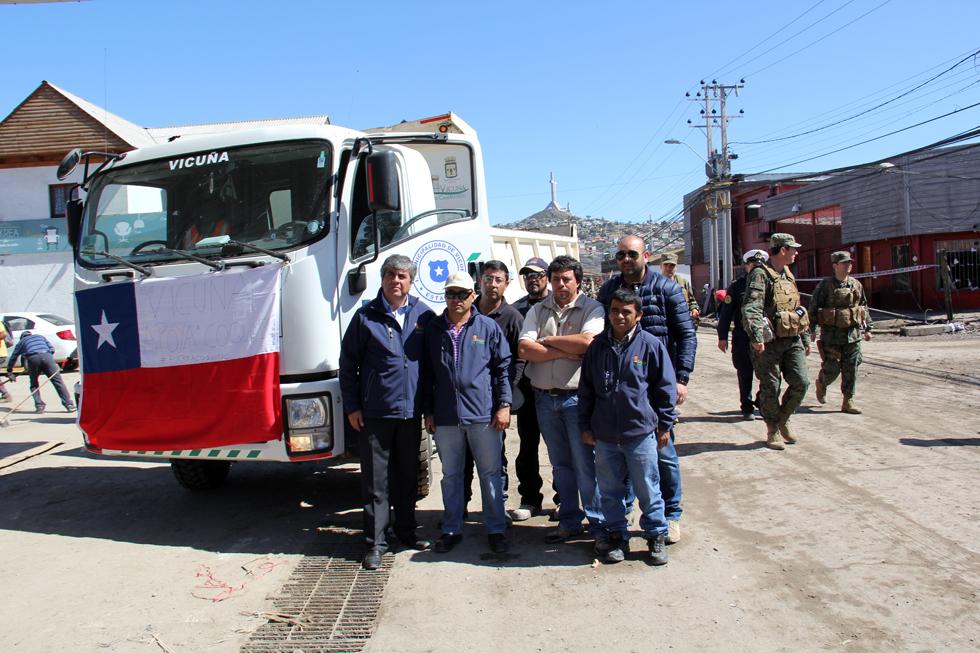 Photo of Vicuña entrega apoyo a las zonas afectadas por el terremoto