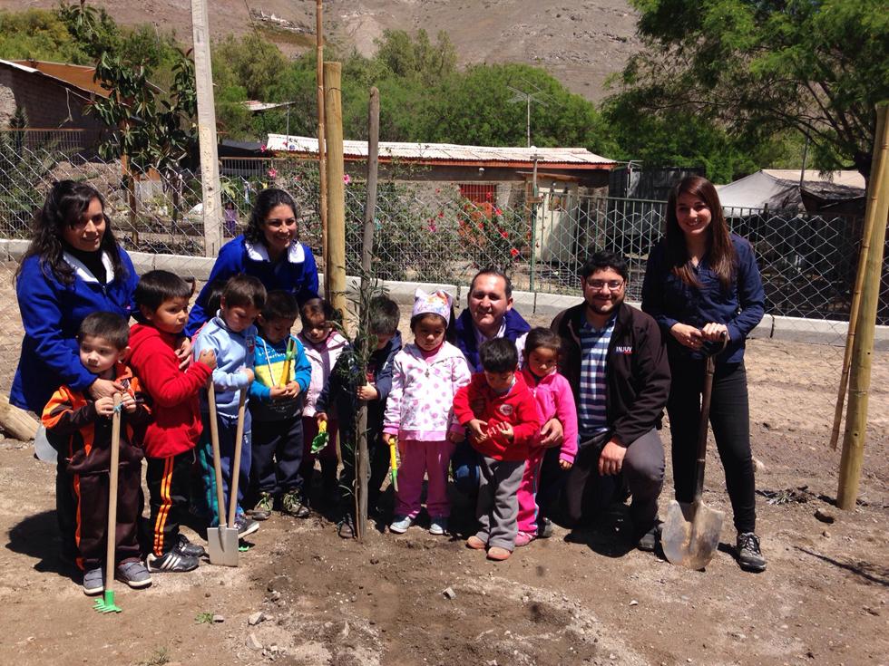 Photo of Jóvenes fomentan el rescate de espacios públicos en localidad del Valle de Elqui