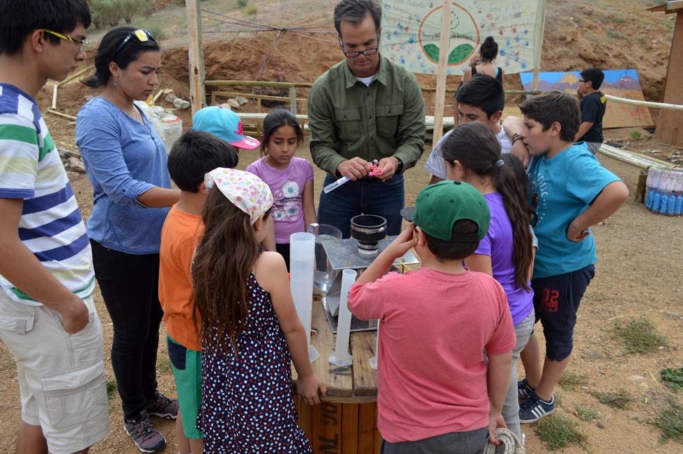 Photo of Academia del agua, proyecto British Council: Niños de Pisco Elqui aprenden sobre propiedades del vital elemento