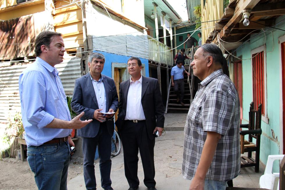 Photo of Analizan en terreno situación de casas afectadas en la comuna de Vicuña