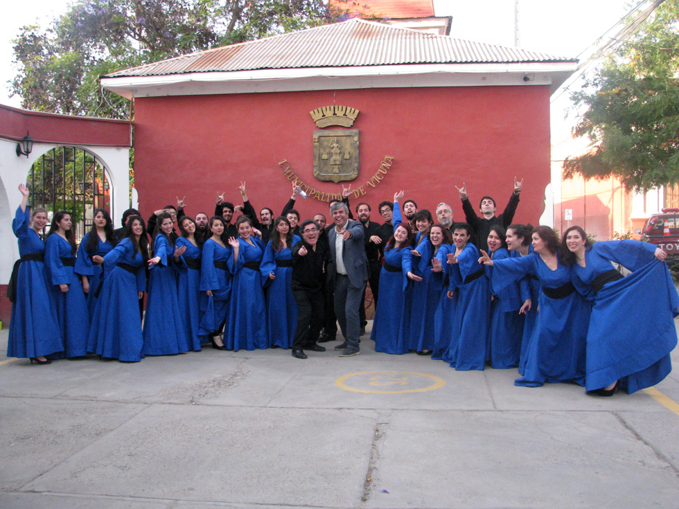 Photo of Presentan Concierto Coral integrado por el Coro de la UMCE y el Coro de Cámara de la ULS
