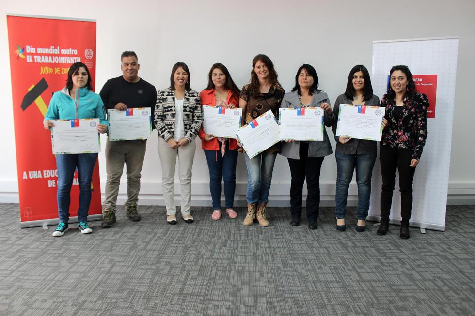 Photo of OPD y DAEM de Vicuña participan en capacitación para erradicar el trabajo infantil
